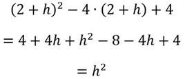 Rechenschritte zur Bestimmung der Symmetrie einer Funktion