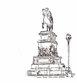Reiterdenkmal Friedrich der Große Stadtführungen Kulturgut Berlin