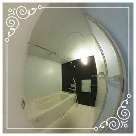 浴室↓パノラマで内覧体験できます。↓ユニテ201号室-Uinte-201