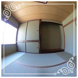 1階和室↓パノラマで内覧体験できます。↓