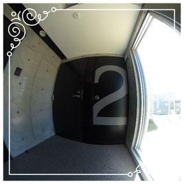 2F廊下↓パノラマで内覧体験できます。↓ユニテ-Uinte