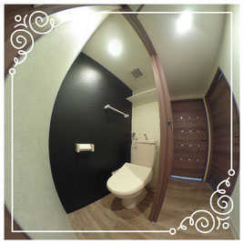 トイレ↓パノラマで内覧体験できます。↓ユニテ201号室-Uinte-201
