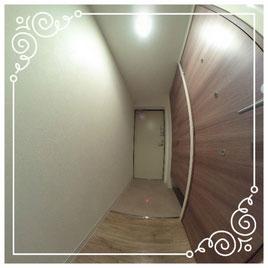 玄関↓パノラマで内覧体験できます。↓ユニテ201号室-Uinte-201