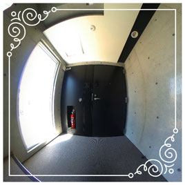 2F玄関↓パノラマで内覧体験できます。↓ユニテ201号室-Uinte-201