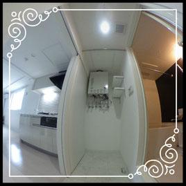 内装/専有部↓360°画像によるバーチャル内覧はこちら。↓ブランシャール麻生302号室-BlancShaedAZABU-302