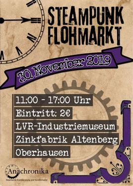 steampunk flohmarkt oberhausen termine events veranstaltung