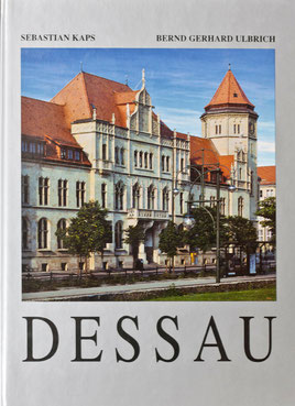 Illustrated book about the city Dessau