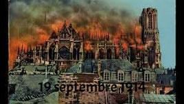 RAPPEL : Tout le centre ville a été intensément bombardé pendant 4 ans....                                                           : + de 10 000 obus incendiaires reçus : entre autres : Temple Protestant détruit et Cathédrale en flamme ...