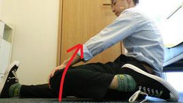 合わない靴で腰椎ヘルニアになった奈良県葛城市の女性