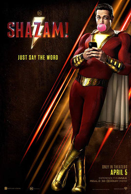shazam film movie review zachary levi dc comics