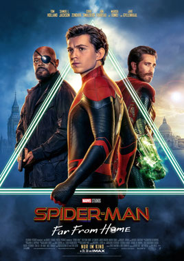 Spider-Man Far From Home Kino Poster FANwerk Film Review