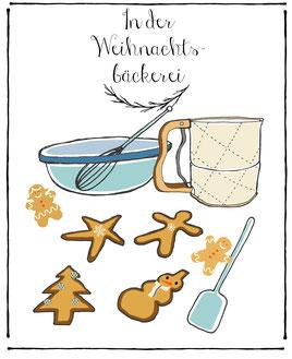 in der weihnachtsbäckerei,freebie weihnachten,weihnachtsdeko freebie