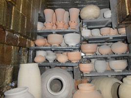 ひみこ窯 2014 窯詰