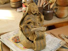 立花雪 Yukitachibana 彫塑