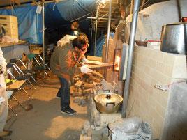 復元古代窯 鳩山町 窯焚き MukyoKobayashi