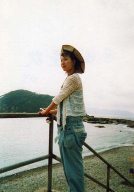 五島列島の想い出 立花雪 YukiTachibana あおい夢工房 炎と楽園のアート~
