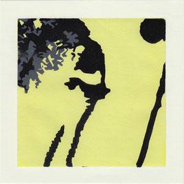 Linolschnitt, Druckgrafik, Grafik, Abstraktion, Pflanzen Abstrakt, Natur, Pflanzen, modern, Schwarze Kunst, Holzschnitt, Druck, Print, Printmaking, Kunst, Art, modern