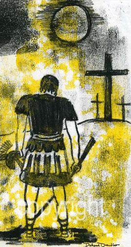 der Hauptmann vor dem Kreuz
