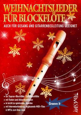 Für Flöte, Gesang und Begleitung, mit Akkordtabelle!