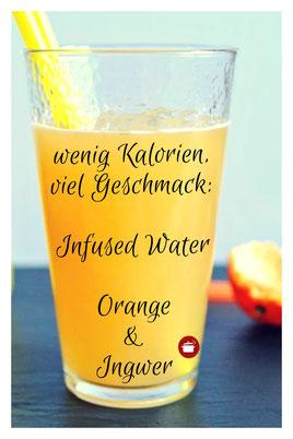 Getränk mit wenig Kalorien, viel Geschmack #infusedwater #lowcarb #wenigkohlenhydrate