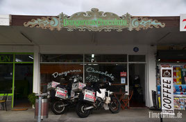 Neuseeland - Motorrad - Reise - Auckland - Besuch bei Dangerous Chocolates