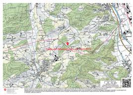 Treffpunkt Biberexkursion, Download der Karte als PDF