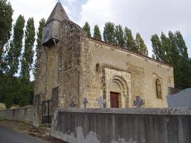 Church of Aubous (Vic-Bilh/Madiran)