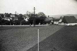 Bild: Wünschendorf 1940 Buswendeplatz