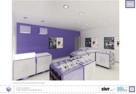 3 - FlagshipLight Store Concept ,concorso a invito_Milano 2007