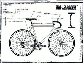 Bikefitting im Jahr 1997
