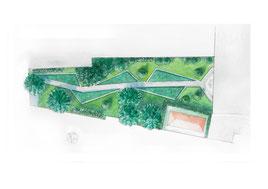 Progetto per un giardino aziendale