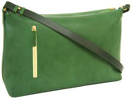 sac main en cuir vert, Dune Saule Paris, Label Fabriqué à Paris