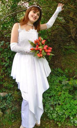Traumhochzeit Brautkleid Hochzeitskleid Brautmode Hochzeitstag Gr. 36