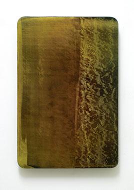 Utopischer Körper 42  2011  Acrylfarbe, Kunststoffsiegel, Ölfarbe auf MDF  60 x 40 cm Privatsammlung Düsseldorf