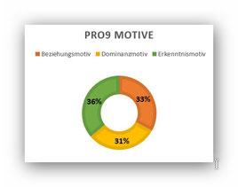 MD MOTIVTEST: Anteile der drei Basismotive