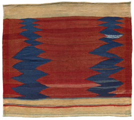 Kelim Teppich. Zürich. Kamu or Kamo Sofreh, Iran. Tapis et kilims nomades. Sofreh nomade d'Iran.  Zurich Suisse, www.kilimmesoftly.ch