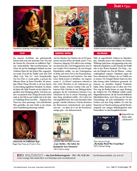 Buchvorstellung 3sat-Kulturmagazin