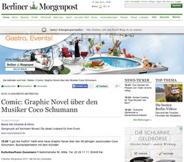 Bericht in der Berliner Morgenpost zum Erscheinungstermin.