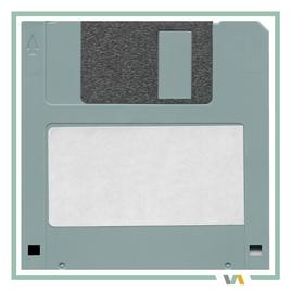 Virtuelle Assistenz Zusammenarbeit: Datenaustausch, Diskette