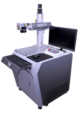 Laser marking machine for convex, concave, round objects