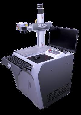 Dark color metal marking machine