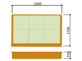 畳ユニット3帖 寸法