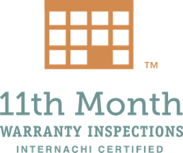 11th Month warranty inspection logo - Advantis Home Inspection, PLLC