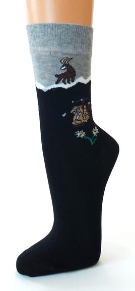 6520 Socken mit Alpaka Wolle