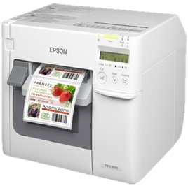 Farbetikettendrucker Epson Colorworks C3500 Niesel-Etikett