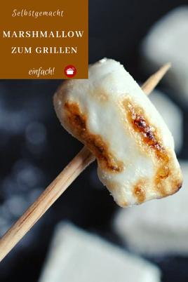 Marshmallows zum #Grillen #bbq #selbstgemacht #thermomixrezepte #fingerfood