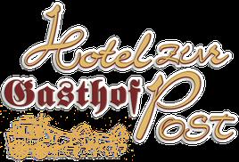 Das Log vom Gasthof Hotel zur Post Kiefersfelden