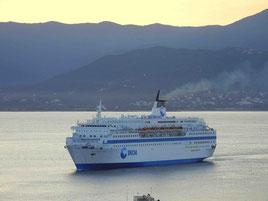 La SNCM espère beaucoup du Méditerranée pour continuer sur sa lancée sut les lignes de Toulon