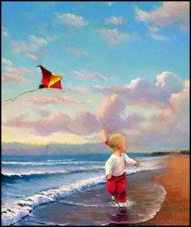 Só por um dia, voltar a ser criança. Ter no olhos a alegria. De andar de mãos dadas com a esperança.
