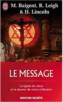 """Jaquette du """"Message"""" de Michael Baigent."""
